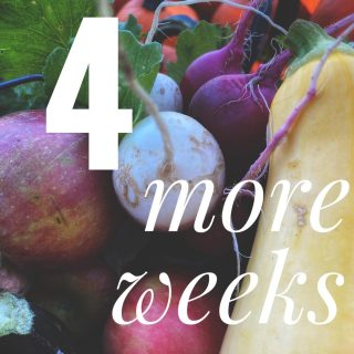 4 more weeks of our regular season! We're going strong till the end of October - join anytime at cityfresh.org 🍓  #cityfresh #csa #eatlocal #shoplocal