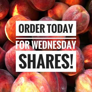 Place an order by 11:59pm today to join us for a pick-up at our Fresh Stops on Wednesday!   Visit cityfresh.org to order today. 🍓  #cityfresh #csa #eatlocal #shoplocal