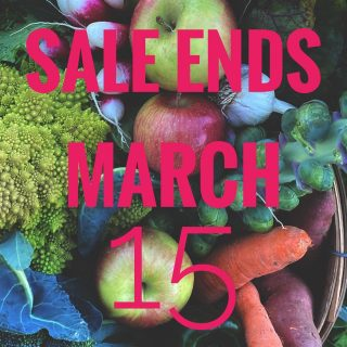 Our CSA Day sale ends tomorrow! Get 10% off 15 or more regular priced shares by ordering at cityfresh.org. Commit to local eating and saving the world one veggie at a time! 🍅