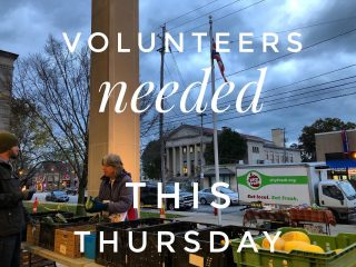 """Thursday 9/2 at our Lakewood Fresh Stop with LEAF, volunteers are needed to help unload and run the stop. 4:30 pm! DM or email info@cityfresh.org - or just show up (Lakewood Library) and say, """"I want to help!"""" We ❤️ volunteers! #volunteersrock #eatlocal #shoplocal #csa #veggies #cityfresh"""