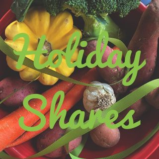 Order by Saturday for Tuesday holiday shares! Get your fresh local holiday veggies at cityfresh.org!