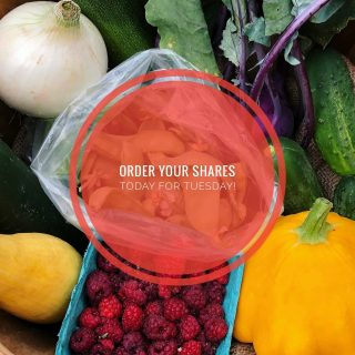 Order your shares by 11:59pm today for pick up on Tuesday!  Visit cityfresh.org to order today. 🍓   #cityfresh #csa #eatlocal #shoplocal