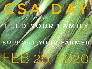 It's #csaday! The day small farms, CSAs, and local foodies everywhere kick off the new season by committing to eating local. Join City Fresh for our 2021 season today! Order 15 or more full priced shares at cityfresh.org and receive 10% off. Help us change the world, one veggie at a time starting June 14. 🍆🫐🥦🧅🍑🍓