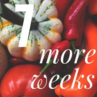 There's 7 weeks left at all 14 of our stops! Order today (Saturday) for Tuesday shares at cityfresh.org! 🍓 Get in the veggie express while the gettin's good! 🍎🥬🍆🍅 #cityfresh #csa #eatlocal #shoplocal